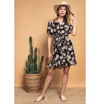 衣服 女士 短裙 Fashion brands 2145A-NOIR 黑色