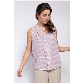 衣服 女士 女士上衣/罩衫 Fashion brands TP25-PINK 玫瑰色