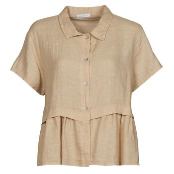衣服 女士 女士上衣/罩衫 Fashion brands 10998-BEIGE 米色