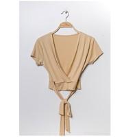 衣服 女士 女士上衣/罩衫 Fashion brands FR029T-BEIGE 米色