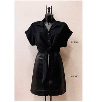 衣服 女士 女士上衣/罩衫 Fashion brands ERMD-13819-N-BLACK 黑色