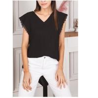 衣服 女士 女士上衣/罩衫 Fashion brands F2106-BLACK 黑色