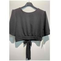 衣服 女士 女士上衣/罩衫 Fashion brands 5172-BLACK 黑色