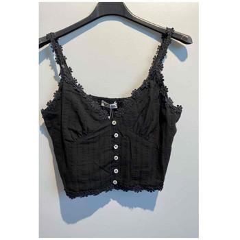 衣服 女士 女士上衣/罩衫 Fashion brands 6133-BLACK 黑色