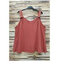 衣服 女士 女士上衣/罩衫 Fashion brands 3841-RASPBERRY 玫瑰色