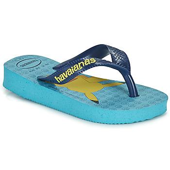 鞋子 男孩 人字拖 Havaianas 哈瓦那 KIDS TOP POKEMON 蓝色
