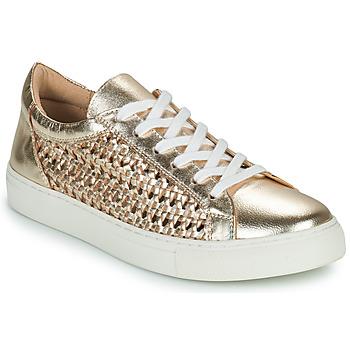 鞋子 女士 球鞋基本款 Cosmo Paris WELLY 金色