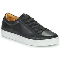 鞋子 男士 球鞋基本款 Carlington 卡尔顿  黑色