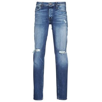 衣服 男士 紧身牛仔裤 Jack & Jones 杰克琼斯 JJITIM JJORIGINAL 蓝色 / Edium