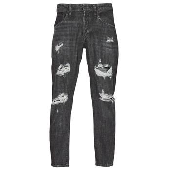 衣服 男士 紧身牛仔裤 Jack & Jones 杰克琼斯 JJIFRANK JJLEEN 黑色
