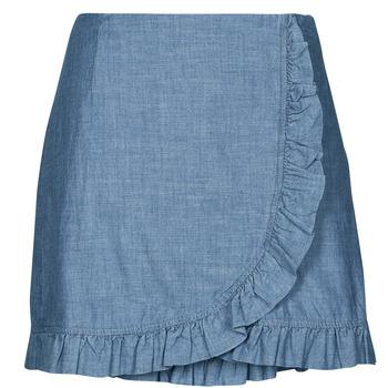 衣服 女士 半身裙 Vero Moda VMAKELA 蓝色