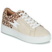 鞋子 女士 球鞋基本款 Vanessa Wu VENDAVEL 米色 / Leopard