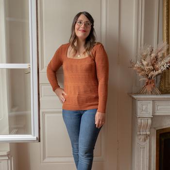 衣服 女士 羊毛衫 Céleste NYSSA 铁锈色