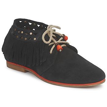 鞋子 女士 短筒靴 Koah YASMINE 黑色