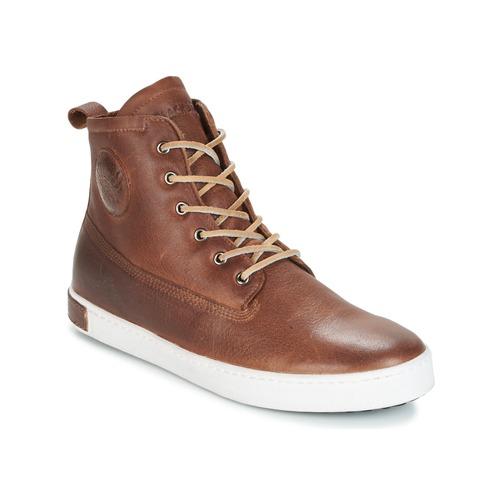 鞋子 男士 高帮鞋 Blackstone INCH WORKER ON FOXING FUR 棕色