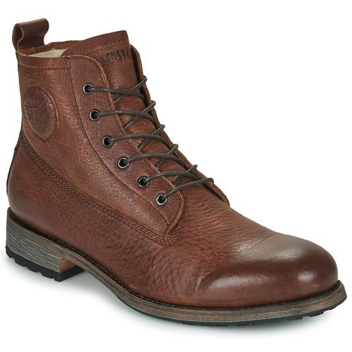鞋子 男士 短筒靴 Blackstone MID LACE UP BOOT FUR 棕色