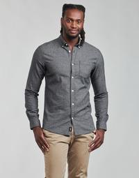 衣服 男士 长袖衬衫 Only & Sons  ONSNIKO 灰色