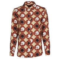 衣服 女士 衬衣/长袖衬衫 Soi Paris x Spartoo PICNIC 棕色