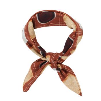 纺织配件 女士 围巾/披肩 Soi Paris x Spartoo PANIER 棕色