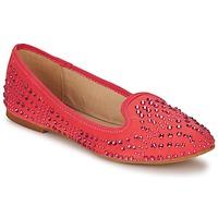 鞋子 女士 皮便鞋 Bata GUILMI 珊瑚色