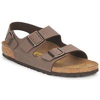 鞋子 男士 涼鞋 Birkenstock 勃肯 MILANO 棕色