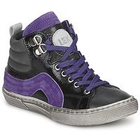 鞋子 男孩 高幫鞋 Little Mary OPTIMAL 黑色 / 紫羅蘭
