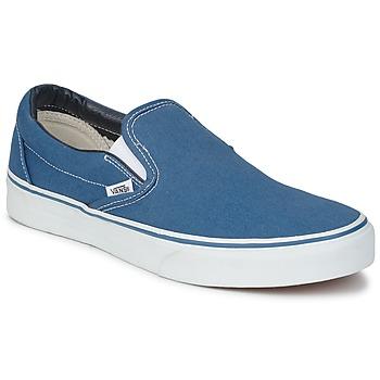 鞋子 平底鞋 Vans 范斯 CLASSIC SLIP ON 海軍藍