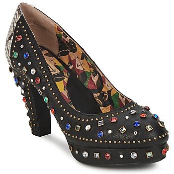鞋子 女士 高跟鞋 Miss L'Fire SHOWGIRL 黑色