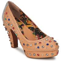 鞋子 女士 高跟鞋 Miss L'Fire SHOWGIRL 米色