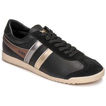 鞋子 女士 球鞋基本款 Gola BULLET TRIDENT 黑色 / 金色