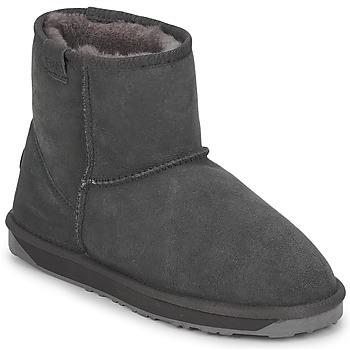 鞋子 女士 短筒靴 EMU STINGER MINI 灰色