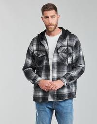 衣服 男士 夹克 Yurban  黑色 / 灰色