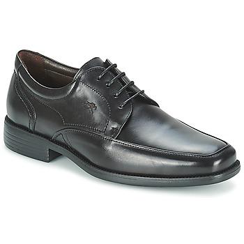 鞋子 男士 德比 Fluchos 富樂馳 RAPHAEL 黑色
