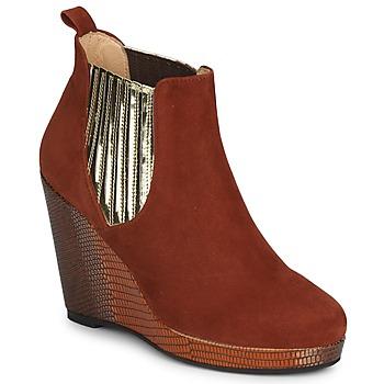 鞋子 女士 短靴 MySuelly LEON 鐵銹色 / 金色