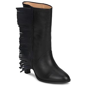 鞋子 女士 都市靴 MySuelly GAD 黑色