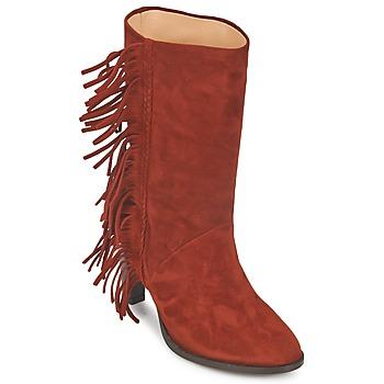 鞋子 女士 都市靴 MySuelly GAD 铁锈色