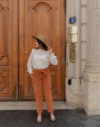 衣服 女士 多口袋裤子 Céleste MARRONNIER 驼色