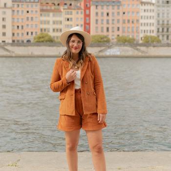 衣服 女士 外套/薄款西服 Céleste SASSAFRAS 驼色
