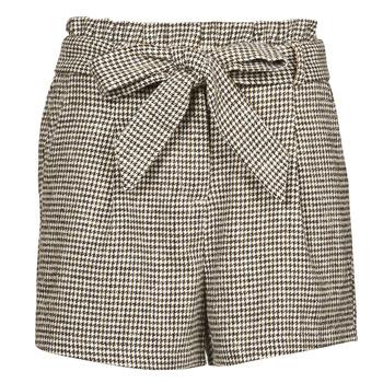 衣服 女士 短裤&百慕大短裤 Betty London PRICSOU 黑色 / 浅米色