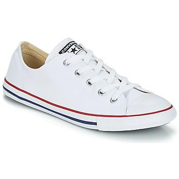 鞋子 球鞋基本款 Converse 匡威 ALL STAR DAINTY OX 白色 / 红色