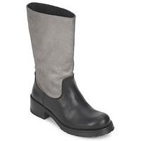 鞋子 女士 都市靴 Pastelle PETULA 银色-黑色