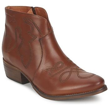 鞋子 女士 短筒靴 Pastelle JANE 駝色