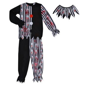 衣服 男孩 角色扮演 Fun Costumes COSTUME ENFANT BLOODY CLOWN 多彩