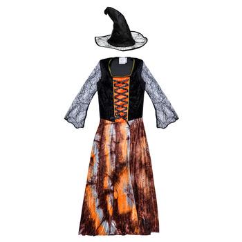 衣服 女孩 角色扮演 Fun Costumes COSTUME ENFANT DAZZLING WITCH 多彩