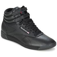 鞋子 高帮鞋 Reebok Classic FREESTYLE HI 黑色
