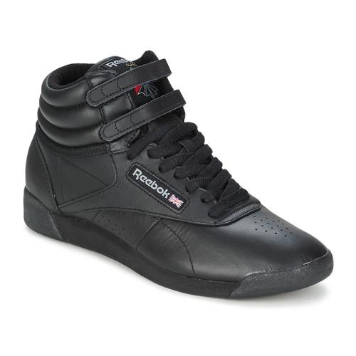 鞋子 女士 高帮鞋 Reebok Classic FREESTYLE HI 黑色