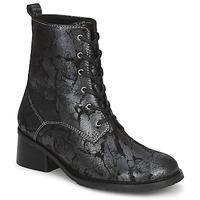 鞋子 女士 短靴 Tiggers ROMA 黑色