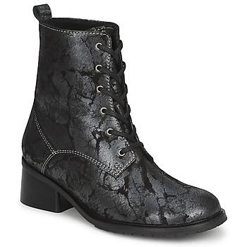 鞋子 女士 短筒靴 Tiggers ROMA 黑色