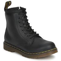 鞋子 儿童 短筒靴 Dr Martens DM J BOOT 黑色