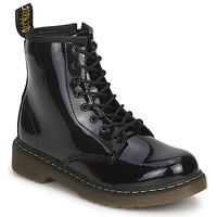 鞋子 女孩 短筒靴 Dr Martens DELANEY 黑色